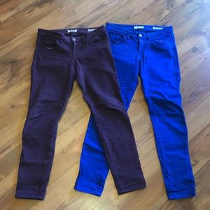Lot of 2 Guess Brittney Skinny Stretch Jeans 29